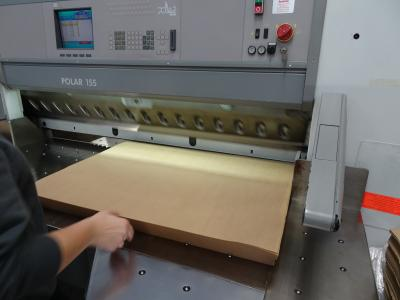 Cross Cutting machine & kraft paper