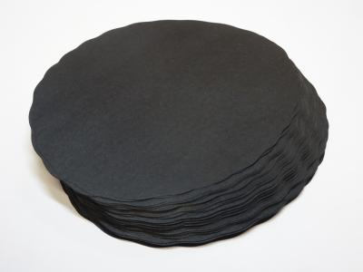 Meatsaver paper black in a rond shape