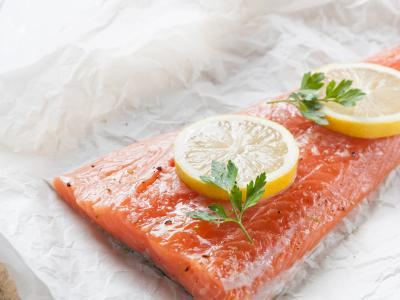 Meatsaver paper white with salmon